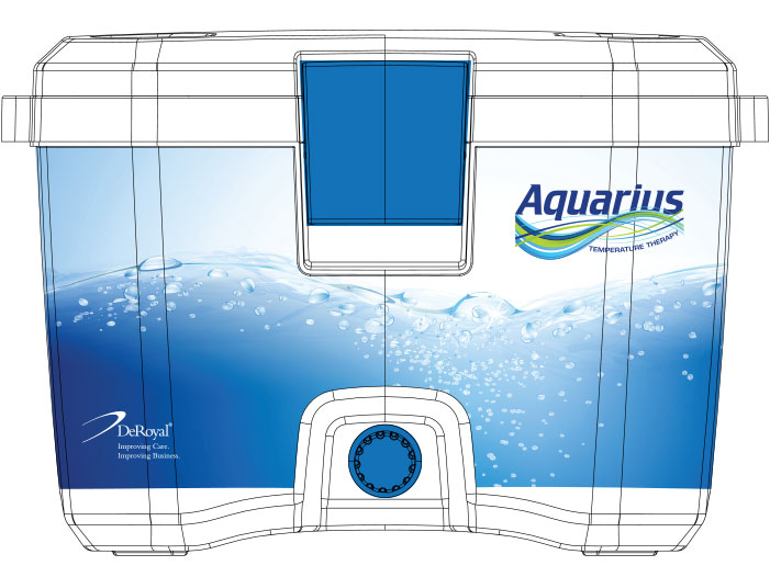 DeRoyal Aquarius Temperature Therapy Unit