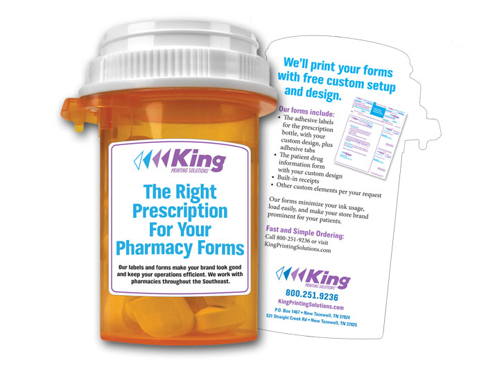 King-Die-Cut-Pill-Bottle-Pharmacy-Forms-Mailer