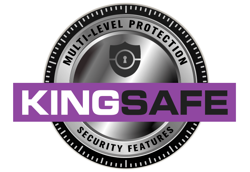 KingSafe Secure Documents logo for King Printing Solutions