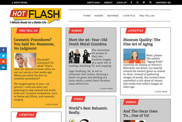 Hotflash Online Magazine